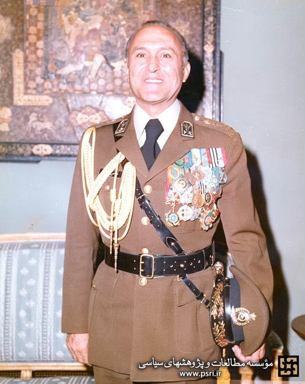 عباس قرهباغی رئیس ستاد ارتش رژیم شاه