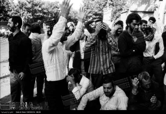 عکس/واکنش مردم به خبر ارتحال امام(ره)