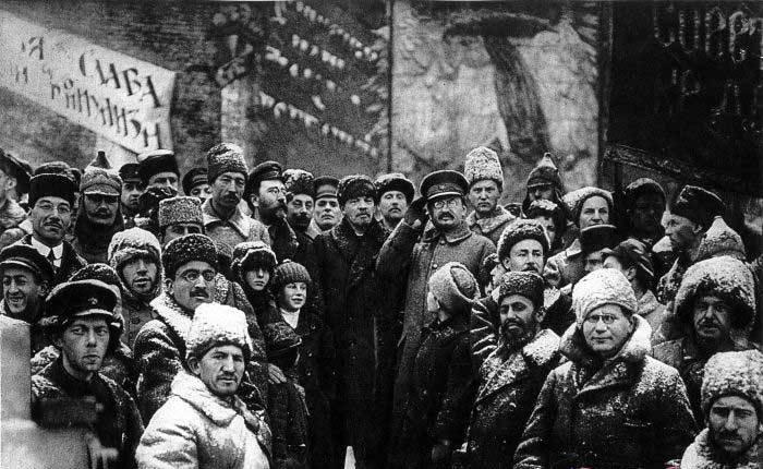 عکس / عکسی از لنین در سال ۱۹۱۹