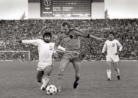 عکس/بازی ایران و هلند در جام جهانی آرژانتین