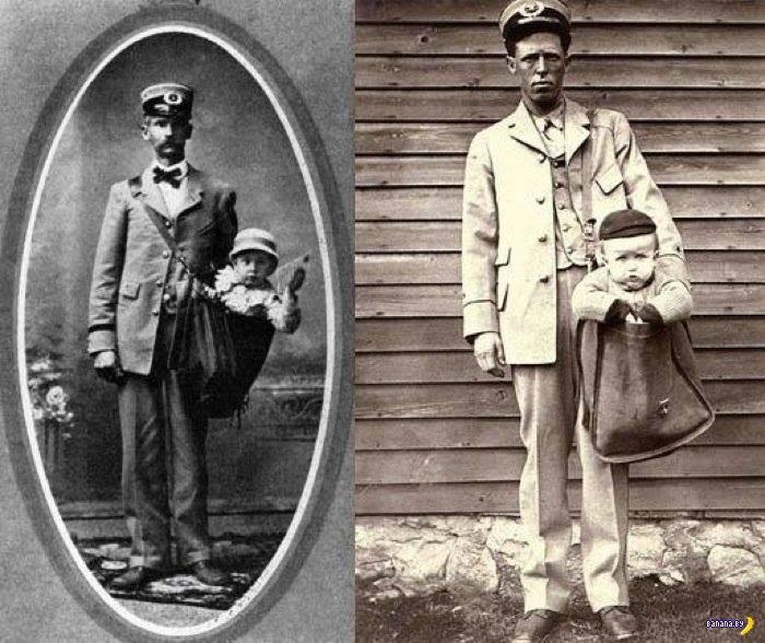 وقتی آمریکایی ها بچه های خود را با پست جا به جا می کردند!+تصویر تاریخی