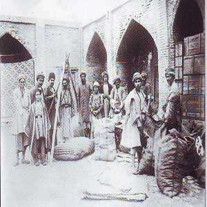 عکس/گمرک عهد قاجار