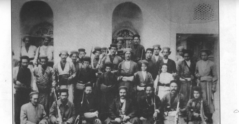 عکس/ دلیران تنگستان قبل از نبرد با قوای متجاوز انگلیسی