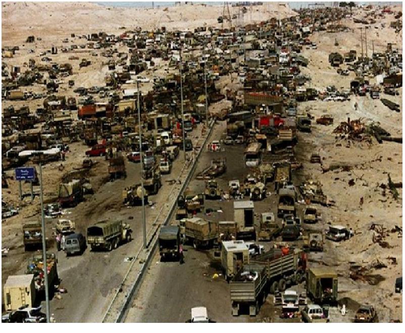 مرگ در بزرگراه کویتی + عکس
