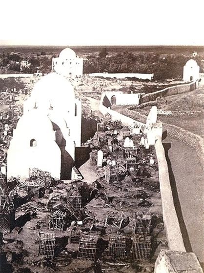عکس/قبرستان بقیع در 110 سال قبل