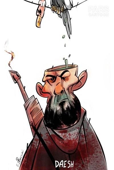 کاریکاتور/الهام بخش اندیشههای داعش