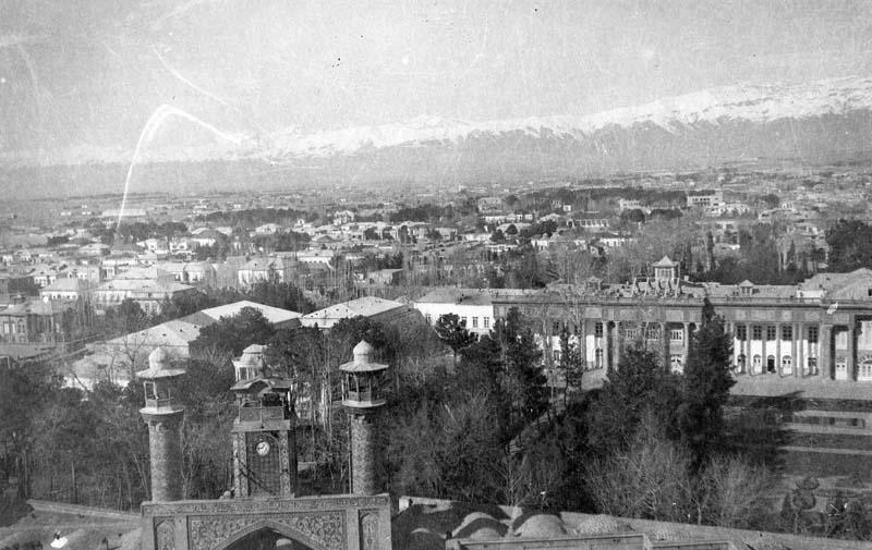 عکس/مسجد سپهسالار در دوران قدیم