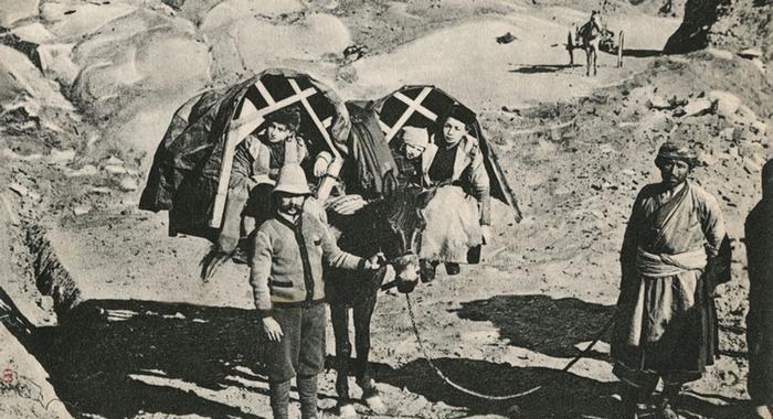عکس/دوران قدیم مسافرت به ایران چگونه بود