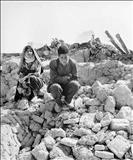 عکس/ زلزله بوئین زهرا سال 1341