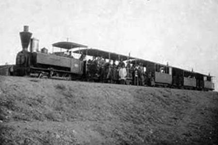 عکس/قطار در ایران قدیم