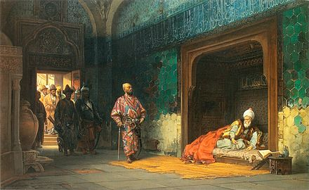 قتل و عام تیمور برای آبلیمو