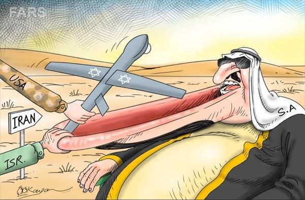 عربستان در اعزام پهپاد اسرائیلی به ایران کمک کرده است!