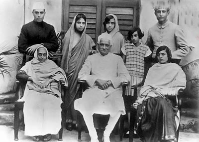 عکس/خانواده سیاسی هند