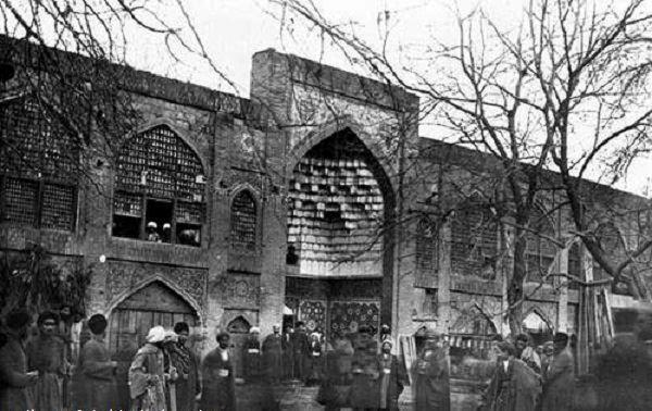 عکسی از مشهد مقدس سال 1302