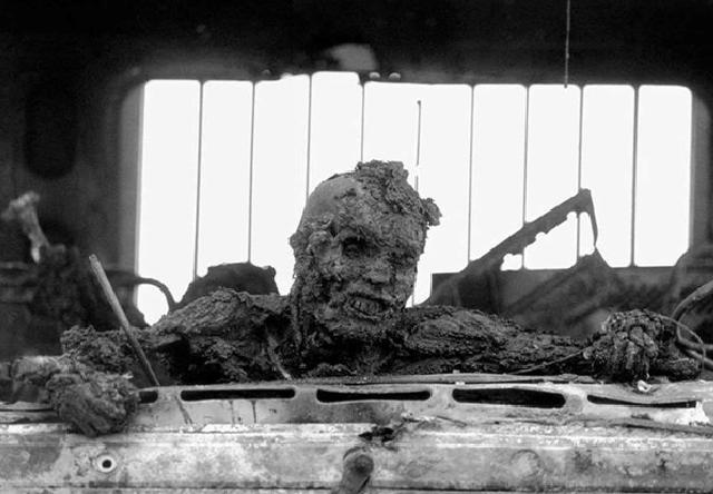نمایی دلخراش از سمبل جنگ اول خلیج فارس+عکس
