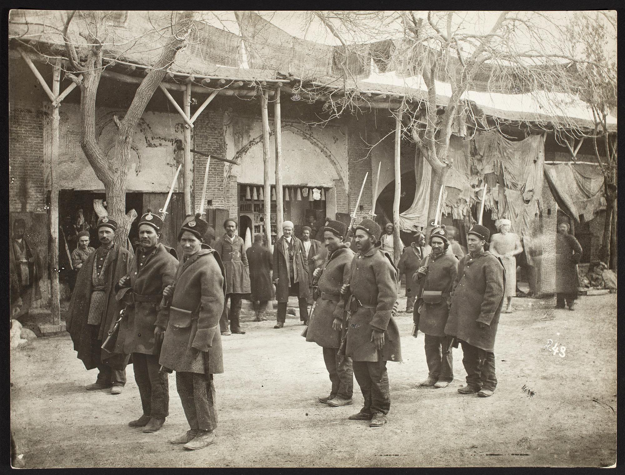 عکس/سربازان دوره قاجار