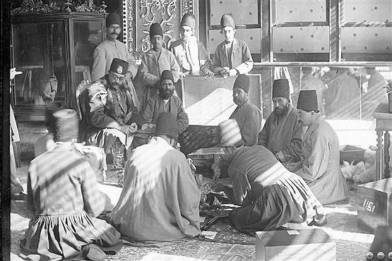 نظام اطلاعاتی در ایران قدیم