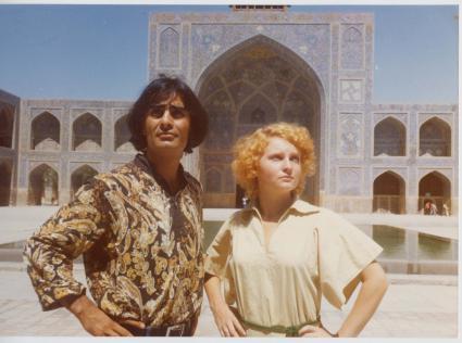 عکس/توریست های دهه 50 در اصفهان
