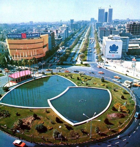 عکس/میدان ولیعصر دهه 50