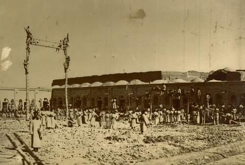 عکس/ تمرین نظامی در دوره قاجار