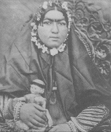 چرا زنان قاجار چاق بودند