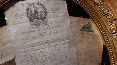 تصاویری از لوازم شخصی ناپلئون بناپارت