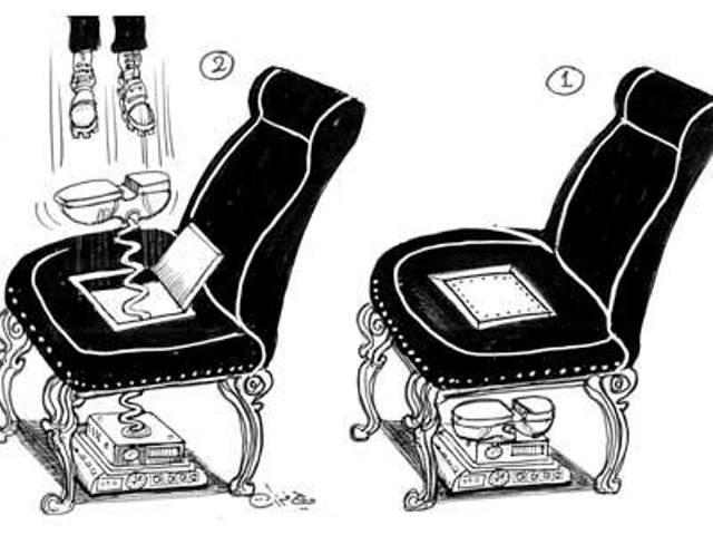 کرسی ریاست!