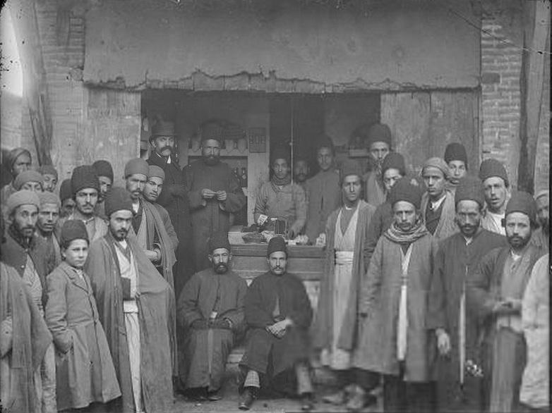 عکس/ بازاریان دوره قاجار