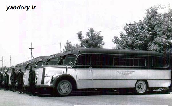 اولین سامانه اتوبوس رانی تهران