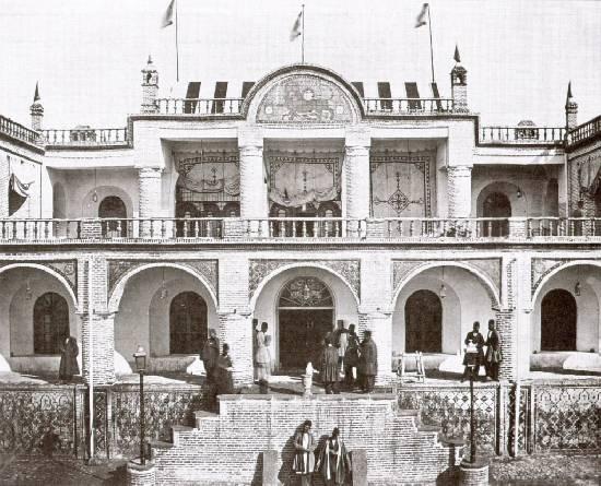 عکس/اولین هتل مدرن ایران سال 1280