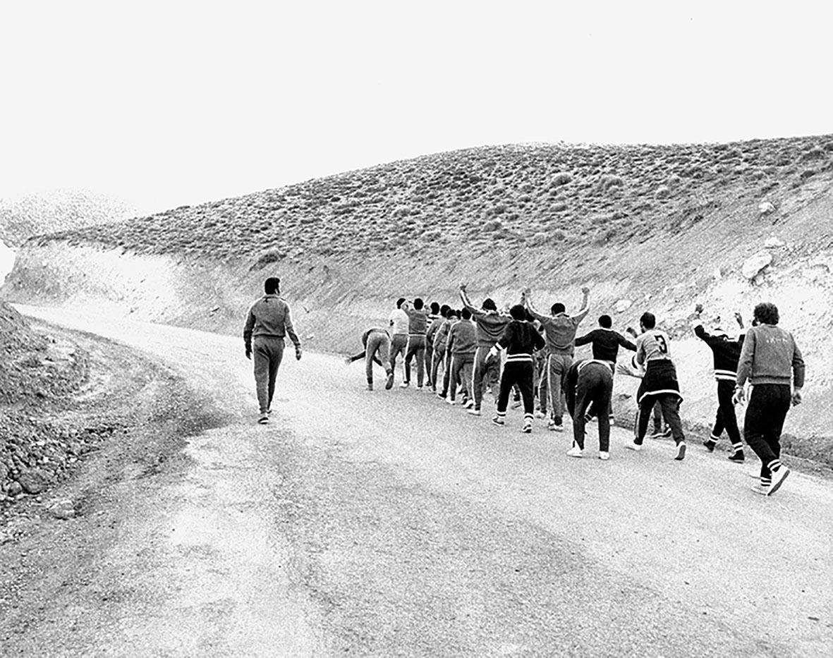 عکس/تمرین تیم ملی فوتبال 40سال پیش