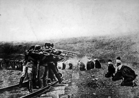 عکس/ اعدام سربازان در جنگ جهانی