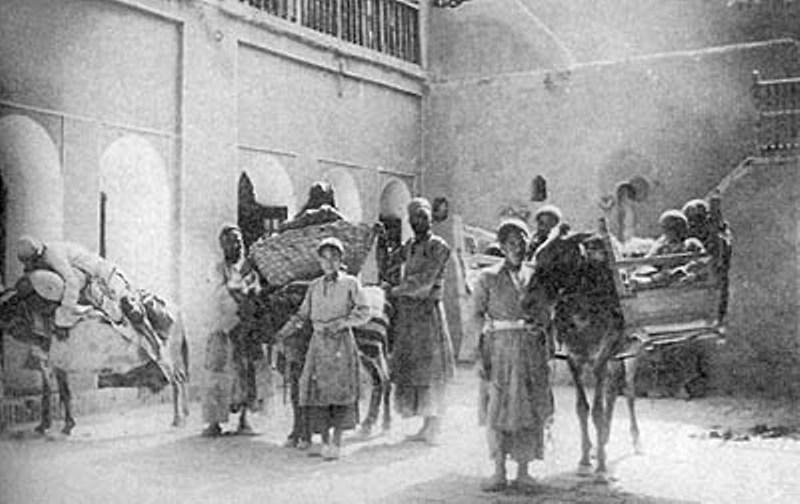 عکس/وسیله نقلیه دوره قاجار