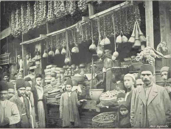 عکس/بازار رشت دوره قاجار