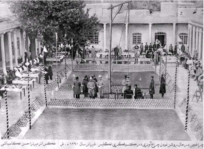 عکس/کنسولگری انگلیس در شیراز سال 1290