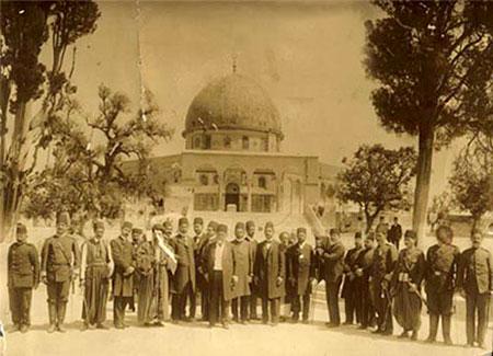 عکس/امین السلطان در بیت المقدس