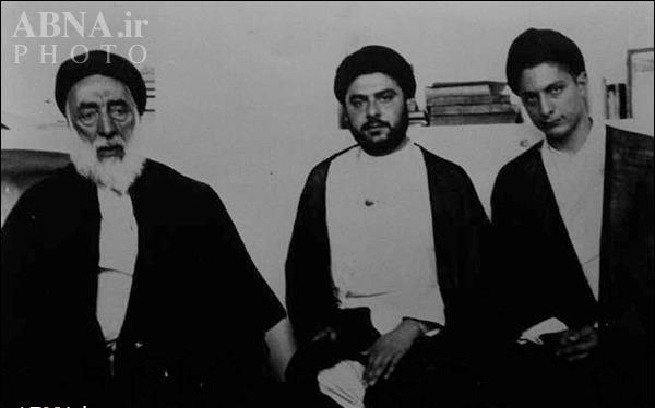 عکسی نادر از امام موسی صدر