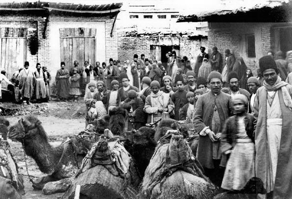 عکسی از محله کلیمیان تهران در قدیم