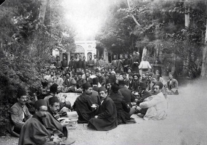 عکس/گردهمایی روشنفکران قجری