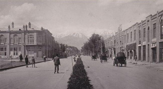 تهران قدیم ۱۳۴۹ شمسی