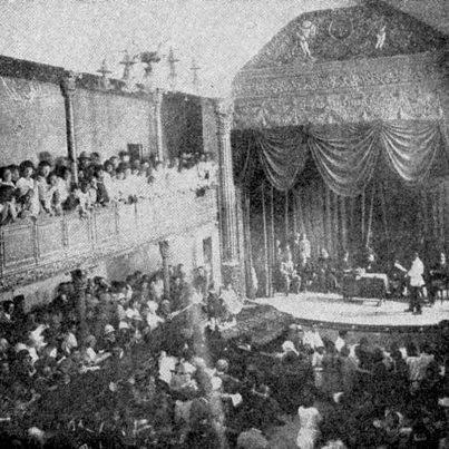 عکس/اولین تئاتر ایران در تبریز