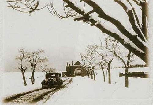 عکس/برف زمستانی تهران قدیم