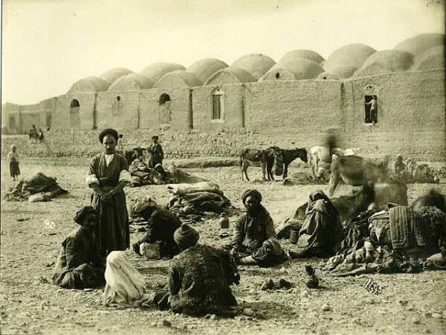 عکس/کاروانسرایی در دوره قاجار