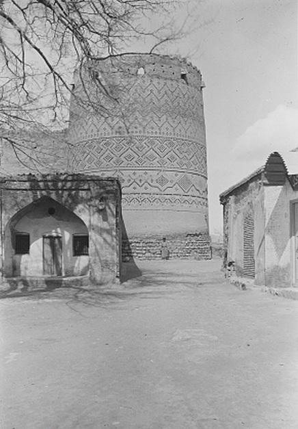 قدیمی ترین عکس از ارگ کریمخان زند