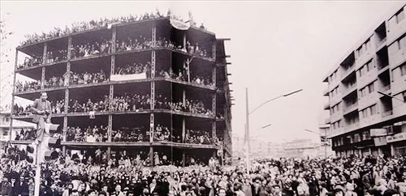 عکس/ساختمان انقلاب