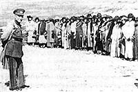 تصاویری از مراسم کشف حجاب رضاخانی