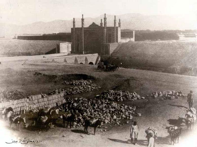 عکس/دروازه خانی آباد در قدیم