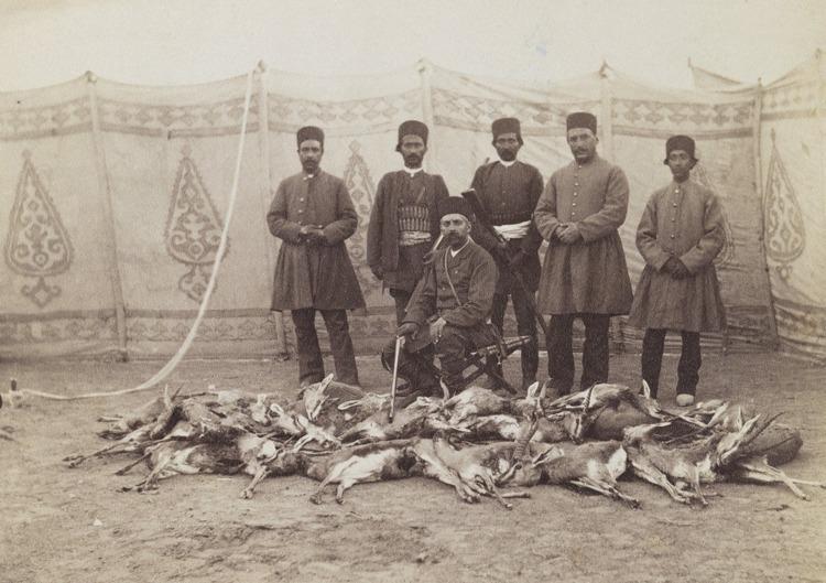 تصاویر/خان فرمانفرما در شکار