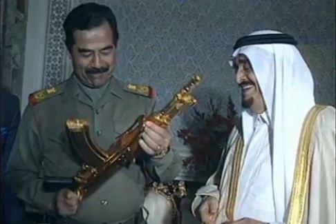 عکس/هدیه شاه سعودی به یک دیکتاتور
