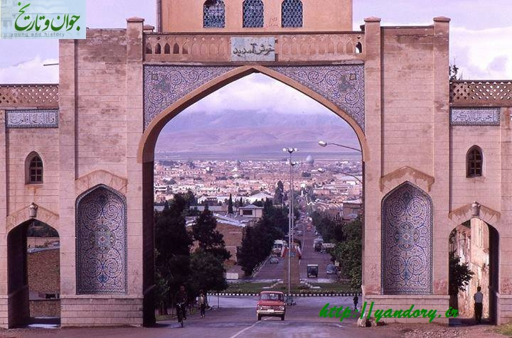 عکس/دروازه قرآن شیراز در دهه 40